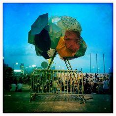 "Umbrella Movement; Hong Kong's Street Art Protest ""Umbrella, new Hong Kong pro democracy symbol – Why the Umbrella Movement — The Umbrella movement began when the people brought their umbrellas to the..."