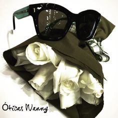 Quem é a namorada que iria gostar de receber esse presente? Óculos Fendi acompanhado por flores. #diadosnamorados #wanny #love #oculos #Fendi #oticaswanny