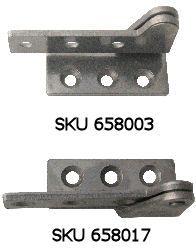 Overlay Pivot Hinge, Stainless Steel
