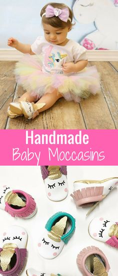 Adorable! Oh my goodness. I love the idea of putting baby girl in leather moccassins as she's learning to walk. They absolutely can be cute too!! Blush Unicorn Moccasins | Baby Moccasins, Toddler Moccasins, Blush Moccs, First Birthday Outfit, Sleepy Eyes, Unicorns, Unicorn Party, Boho #affiliate #unicorns #babyshoes #leatherbabyshoes #babygirl. #babygift #babyshowergift #littlegirl #babygirl #shoes #tuto #1stbirthday #firstbirthday #homemade #mocassins #affiliate