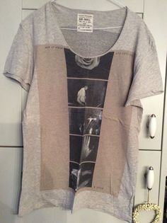 Ladies grey T shirt with motif front And Back Size Small All Saints | eBay
