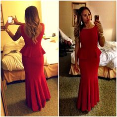 BCBG gown from Renttherunway.com | red carpet affair | fashion red dresses