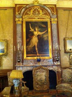 Waddesdon Manor interior, detail