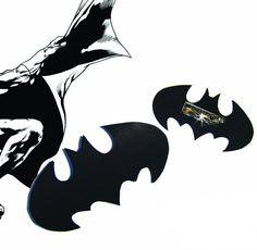 Brooch inspired by Batman Standard famous Logo