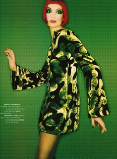 Jean-Baptiste Mondino Sibyl Buck Vogue Paris, circa 1990's