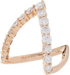 Vanki Designs Jewellery, Gold Jewellery Design, Gold Jewelry, Vintage Jewelry, Fine Jewelry, Rose Gold Diamond Ring, Diamond Earrings, Ring Designs, Gold Designs