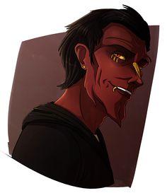 Calleo's ever so despicable charming Sith Pureblood Bi'ev. Everybody's favourite Darth, am I right?