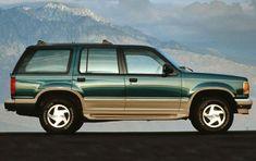 1992 Ford Explorer XLT – Colour: Cayman Green / Medium Mocha Man do I remember these. Loved them.
