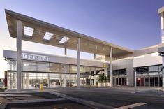 DBM Architects | Scuderia Ferrari Dealership, Bryanston, Johannesburg Canopy, South Africa, Bmw, Mansions, House Styles, Architects, Home Decor, Decoration Home