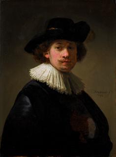 Rembrandt Self Portrait, Rembrandt Art, Rembrandt Paintings, Famous Historical Figures, Dutch Golden Age, Dutch Painters, Leiden, Old Master, Art History
