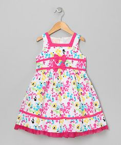 Take a look at this Pastel Dot Cluster Dress - Infant, Toddler & Girls by Longstreet on #zulily today!