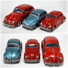 1950〜60年代の日本製ブリキのおもちゃ。1950〜60's Made in Japan Tin Toy Antique Toys, Vintage Toys, Volkswagen, 1960s Toys, Train Layouts, Tin Toys, Vw Beetles, Old Pictures, Cool Cars