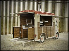 Citroen H-Van Street Food Conversion