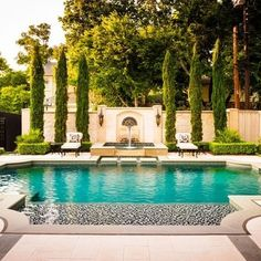 gorgeous pool design with unique concrete design pools pinterest swimming travertine and design - Roman Swimming Pool Designs
