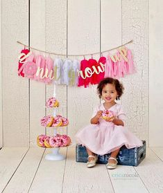 Items similar to Donut Grow Up Banner - Donut Themed Birthday Party - Donut Party - Donut Party Supplies - Donut Party Decorations - Donut Birthday Party on Etsy 1st Birthday Themes, Donut Birthday Parties, 1st Birthday Photos, Baby 1st Birthday, Birthday Party Decorations, Birthday Ideas, Donut Party Supplies, Grown Up Parties, Birthday Photography