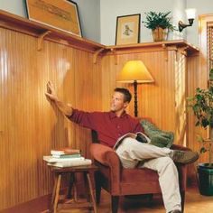 Step-by-step instructions for installing this beautiful tongue-and-groove wainscot right over your existing drywall or plaster.