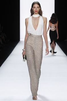 Catwalk photos and all the looks from Badgley Mischka Spring/Summer 2016 Ready-To-Wear New York Fashion Week Runway Fashion, Spring Fashion, High Fashion, Fashion Show, Fashion Looks, Fashion Outfits, Womens Fashion, Fashion Design, Mode Glamour