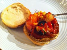 Mmmmm... check out Vegucated in Vancouver's Sol Cuisine burger with peach salsa!