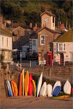 Mousehole, Cornwall, UK.  This was such a cute place.