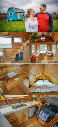 Vancouver Couple Get Around Sky-High Home Costs by Building Tiny House for $30k - The Vancouver housing market is known for having astronomical prices with the average house costing over $1 Million! When this next couple decided they wanted to live in the pricey city without the steep price tag, they started designing plans to build their own tiny house with a $30,000 budget.