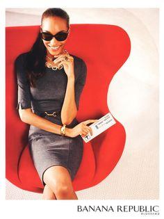 Photo feat. Jourdan Dunn - Banana Republic - Autumn/Winter 2012 Ready-to-Wear - Fashion Advertisement | Brands | The FMD #lovefmd