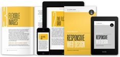 RESPONSIVE WEB DESIGN – Ethan Marcotte explores CSS techniques and design principles, including fluid grids, flexible images, and media queries, demonstrating how to deliver a quality experience to your users no matter how large (or small) their display.