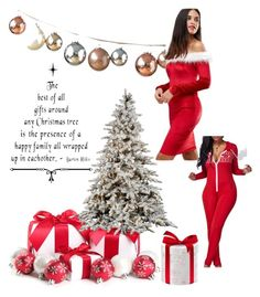 """""""Xmas"""" by mscrispkia ❤ liked on Polyvore featuring Club L"""
