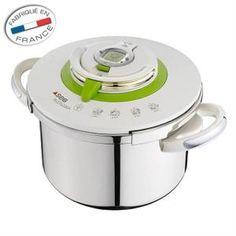 Autocuiseur Cocottes-Minutes® NUTRICOOK Classic vous guide grâce à son minuteur intelligent et à ses 4 programmes de cuissons.