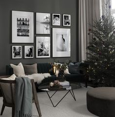 Cozy christmas gallery wall in the group Gallery walls at Desenio AB Desenio Posters, Nyc Subway, Inspiration Wall, Cozy Christmas, White Decor, Picture Wall, Frames On Wall, Living Room Decor, Interior Design
