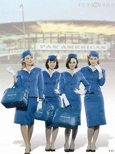 """""""Pan Am"""", les hôtesses de l'air version années 60."""