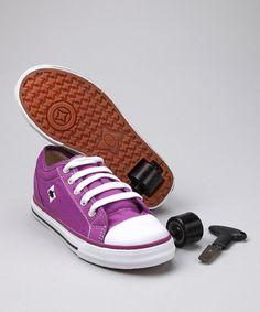 Heelys Purple & White Chazz Sneaker | zulily