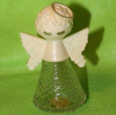 Vintage Avon Bottle Angel 1976 by EnjoyYourVintagePt on Etsy, $5.00