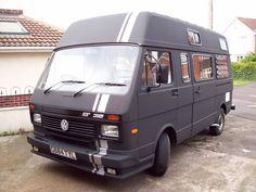 Bildergebnis für 1990 VW LT35 Camper conversion nearing completion