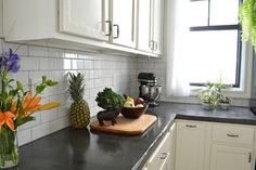 12 Unique Countertop Ideas You've Got To See To Believe: Skimcoat Concrete