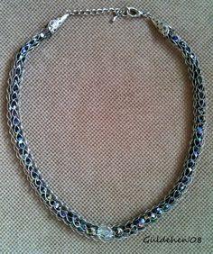 Güldehen's Creations: Makara Örgüsü Kolye / Spool Knitting Necklace