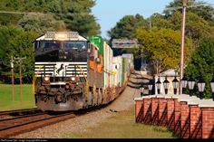 RailPictures.Net Photo: NS 9906 Norfolk Southern GE C40-9W (Dash 9-40CW) at Central, South Carolina by Will Jordan