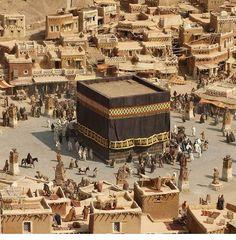 The holy mosque - Makkah Masjid Al Haram, Mecca Masjid, Islamic Images, Islamic Pictures, Islamic Art, Photos Islamiques, Mekka Islam, Tafsir Coran, Saudi Arabia Culture