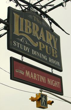 The Library Pub by BookMonger on Flickr.