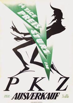 Baumberger Otto PKZ Ausverkauf Jahr: 1923