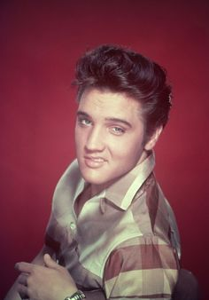 Elvis giving the lip.