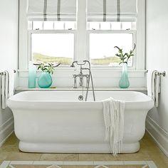 Master Bathroom Beach House 20 beautiful, beachy baths | beach house bathroom, water and beach