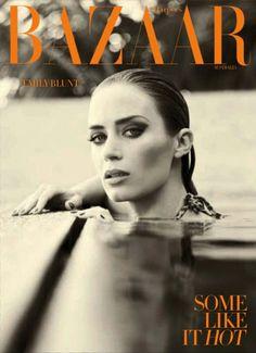 Emily Blunt Covers Harper's Bazaar Australia November 2012 Issue