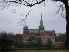 Nidaros Cathedral at trondheim