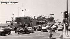 1953 - Looking NW on Pacific Coast Highway Alt) at Broadway in Laguna Beach (DOH photo). Pacific Coast Highway, Laguna Beach, Broadway, Street View, History, Christmas, Vintage, Xmas, Historia