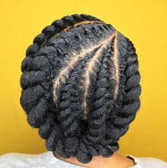 60 Easy and Showy Protective Hairstyles for Natural Hair - Protective Chunky Flat Twists Updo Informations About 60 Easy and Showy Protective Hairstyles for Na - Protective Hairstyles For Natural Hair, Natural Hair Twist Out, Natural Hair Updo, Natural Hair Braid Styles, Natural Braided Hairstyles, Flat Twist Updo, Twist Ponytail, Curly Ponytail, African Hairstyles