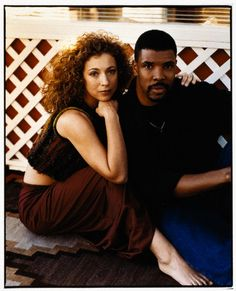 Elizabeth Corday & Peter Benton AKA Alex Kingston and Eriq La Salle on ER