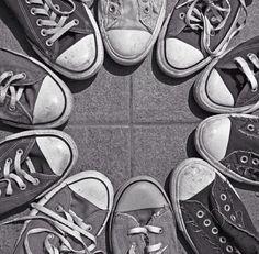 Converse Wheel @✔ b l a c k w h i t e