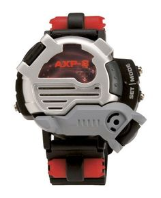 Spy Gear Ultimate Spy Watch by Wild Planet. $17.28. From the Manufacturer                Spy Gear Ultimate Spy Watch by Wild Planet is more then just a watch; it's an 8-in-1 wrist gadget for the serious spy.  It's the most exciting spy watch ever, protected with new locking armor feature.  Achieve extra security with a build-in motion alarm, with time stamp.  For ultimate communication technology, this hi-tech watch includes a decoder screen that reads spy messages.  ...