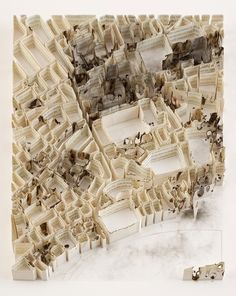 paper cities before and after war by Matthew Picton