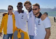 La Juventus al Golden Gate - Calcio - Sportmediaset - Foto 1